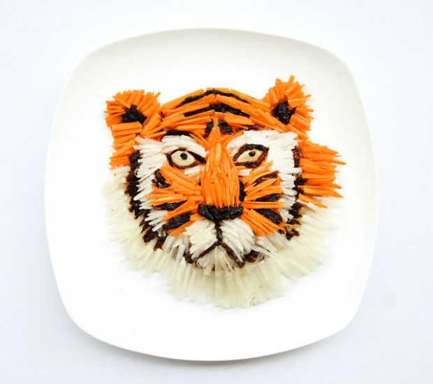 Amazing art food pieces from Hong Yi