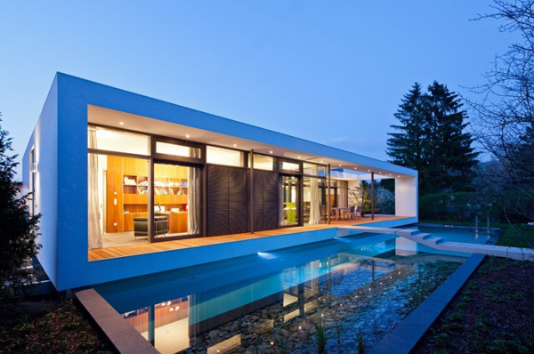 10 Modern Houses With Integrated Pools - top 10, pools, pool, modern, house, amazing