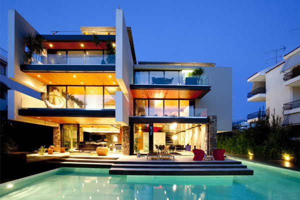 ... 10 Modern Houses With Integrated Pools ...
