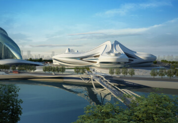 Changsha International Culture & Art Centre - museum, culture, architecture, amazing