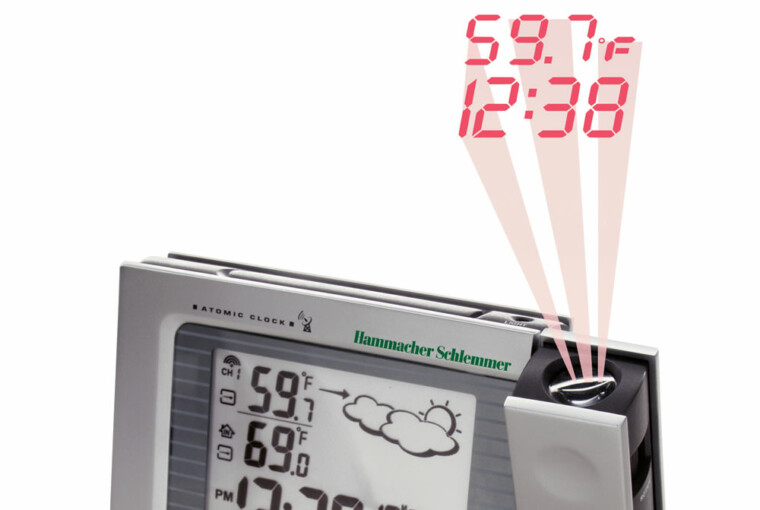 The Projection Alarm Clock and Weather Monitor - Weather Monitor, Projection Alarm Clock, clock, Alarm Clock, alarm