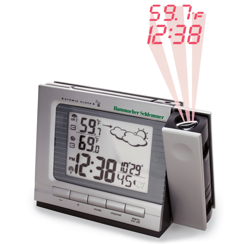 The Projection Alarm Clock And Weather Monitor Style
