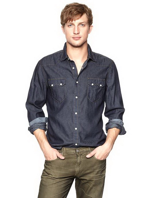 gap spring 2013 casual shirts for men style motivation