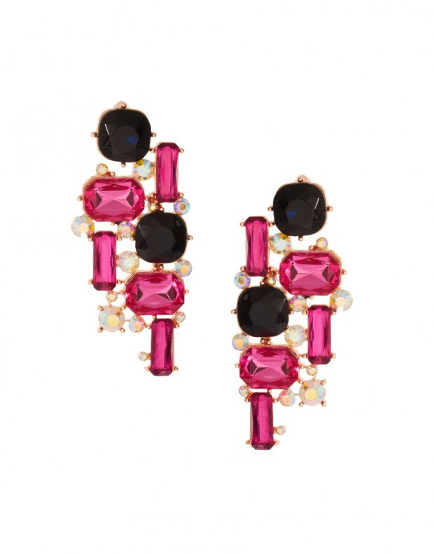 Mixed-Gemstone-Stud-Earrings
