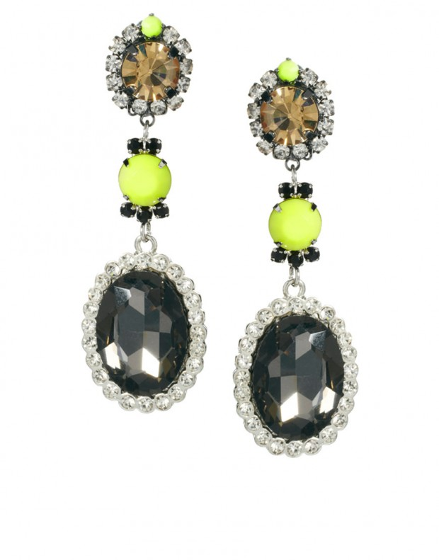 12 Earrings Amazing Design With Faceted Jewels