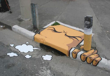 Creative Examples Of Street Art That Will Blow Your Mind - street art, art&architecture, art