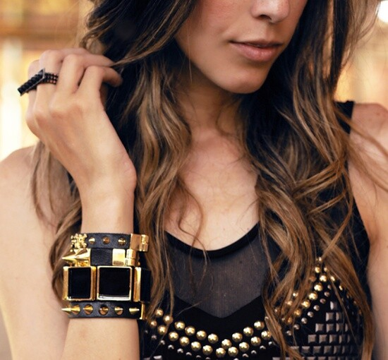 Studded Accessories Is Going To Be Modern This Season - Studded accessories, season, modern, Accessories