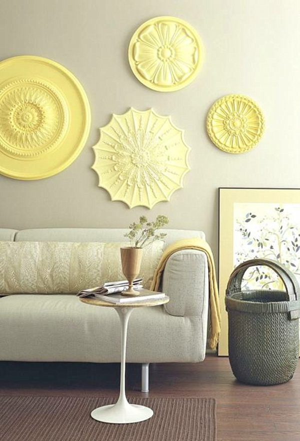 25 DIY Easy And Impressive Wall Art Ideas - Style Motivation
