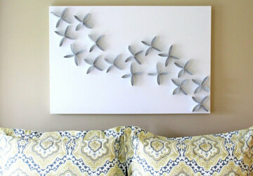 25 DIY Easy And Impressive Wall Art Ideas - wall, ideas, diy, crafts, art