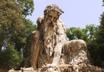 Colossus from Park of Pratolino - park, collosus, amazing