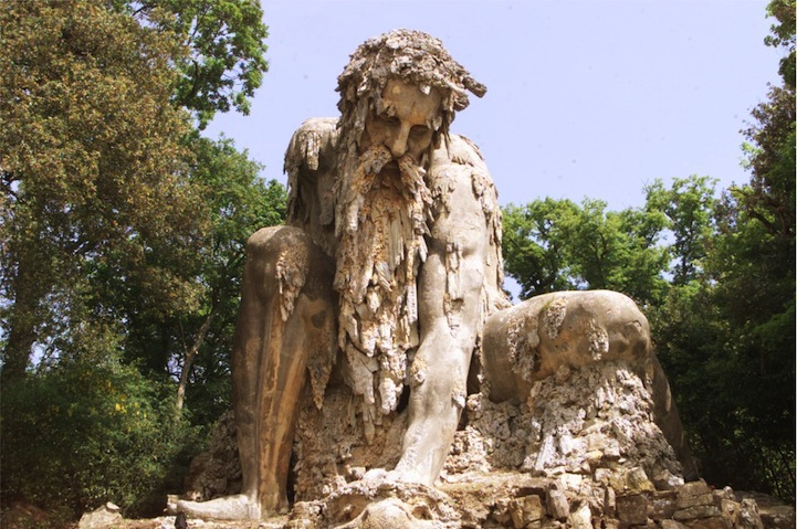 Colossus From Park Of Pratolino Style Motivation