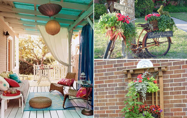 How To Decorate Outdoors On Budget - Style Motivation