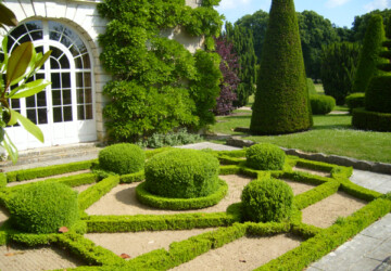 Landscape Design: French Garden - top, garden, amazing