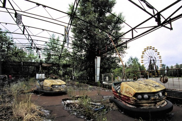 THE 20 MOST SENSATIONAL ABANDONED PLACES