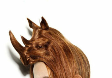 Creative Animal Hair Style by Nagi Noda -