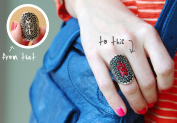 From That to This: Southwestern DIY Ring Redo - ring, diy
