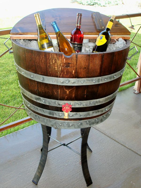 15 Ways Of Using Wine Barrels