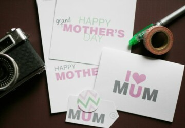 10 DIY Mother's Day Gifts -