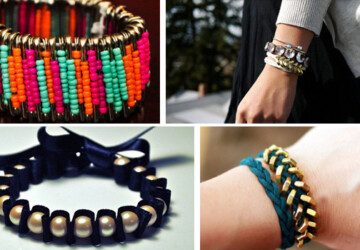 Fashion can be bought, or MADE! 15 DIY Bracelets - fashion, diy, crafts, bracelets
