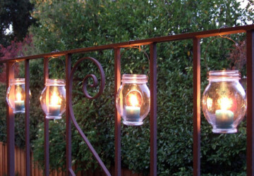 13 DIY Outdoor Lighting Ideas -