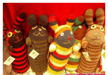 Dolls from socks -