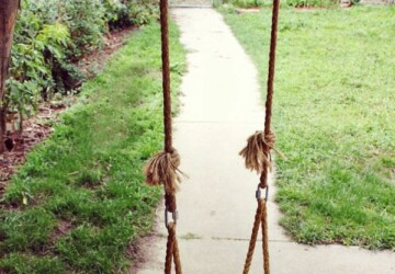 DIY Outdoor Swings -