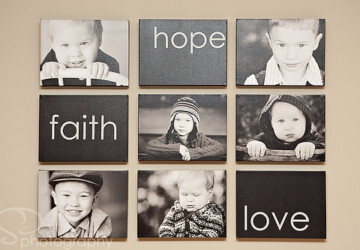 20 Ideas To Use Family Photos On Your Walls -