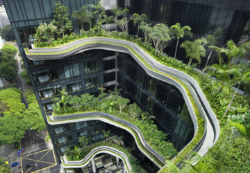 Hotel-as-Garden PARKROYAL on Pickering by WOHA -