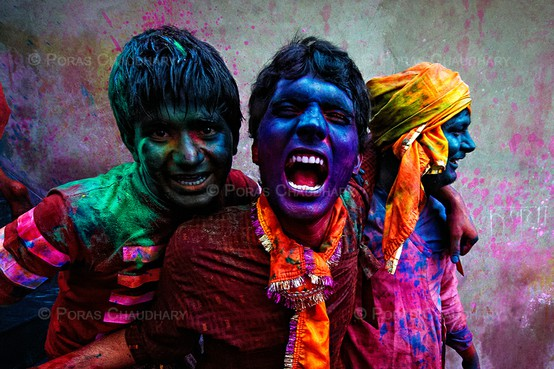 Celebrating Holi, the Hindu Festival of Colours
