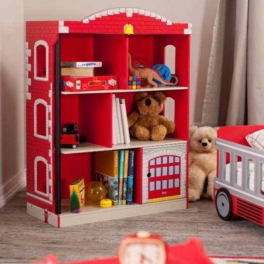 baby boy room themes ideas with bookcase | 25 Really Cool Kids' Bookcases And Shelves Ideas - Style ...