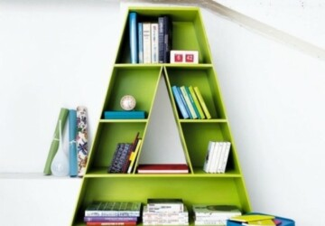 25 Really Cool Kids' Bookcases And Shelves Ideas - storage for kids books, kids bookshelves, kids bookcases, cool kids bookshelves, bookcase, book storage