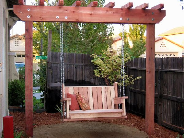 Diy outdoor swings style motivation for Easy porch swing