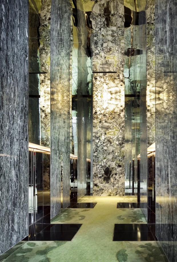Hotel as Garden PARKROYAL on Pickering by WOHA