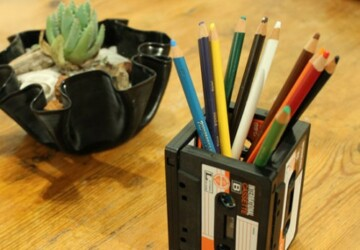 15 DIY Pencil Holders - simply, Pencil, ideas, holders, diy, amazing
