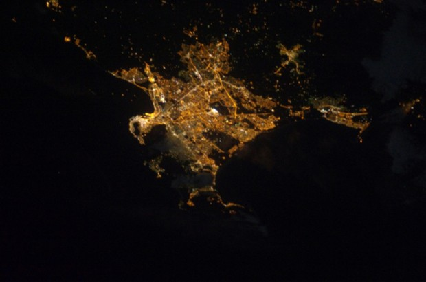 x 11 from space nasa earth at night - photo #27