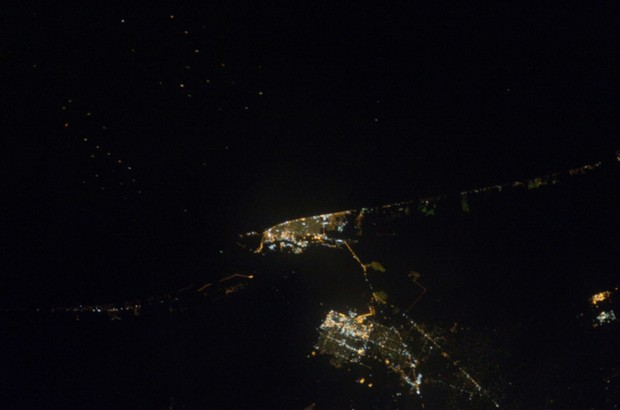 x 11 from space nasa earth at night - photo #40