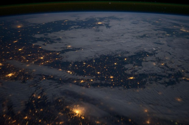 x 11 from space nasa earth at night - photo #9