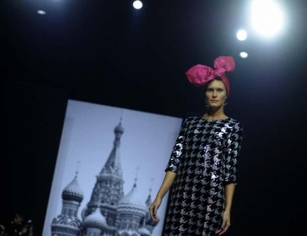 Fashion Week in Moscow