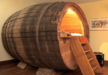 15 Ways Of Using Wine Barrels -