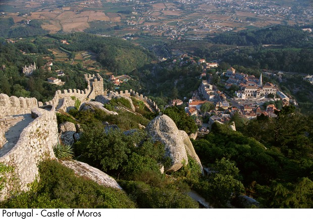 Portugal - Castle of Moros