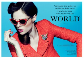 Coco Rocha by Jason Hetherington (Glass #13 Spring 2013) -