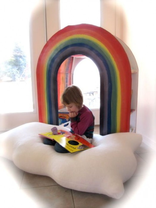 Amazing Diy Rainbow Bookcase For Your Kids Style Motivation