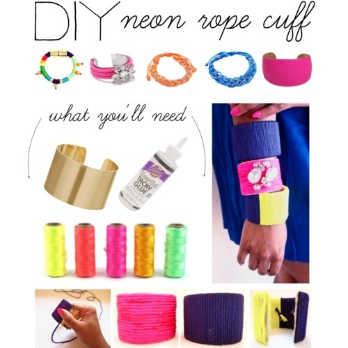 Fashion can be bought, or MADE! 15 DIY Bracelets - Style Motivation