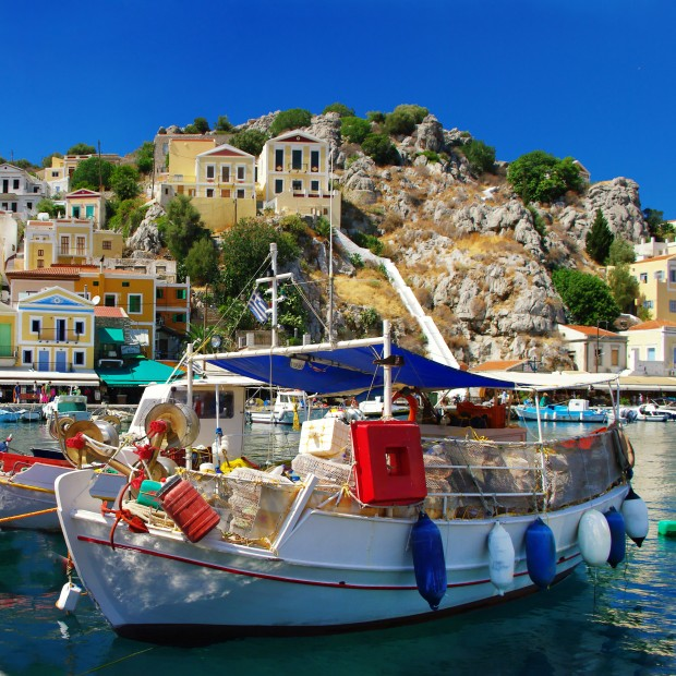 colors of Greece series - Symi island
