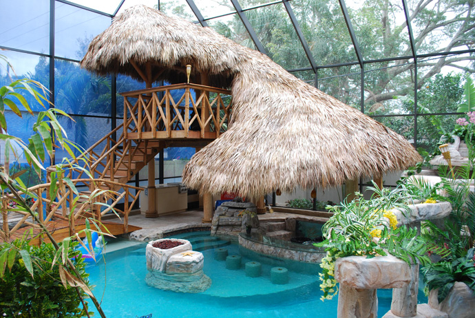 Tiki Hut – Change Your Pool into a Tropical Paradise!