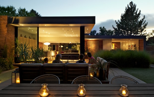 Amazing Garden For Arapahoe Acres Residence by Blu Design Group