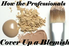 How To Cover Up a Blemish Professionally -