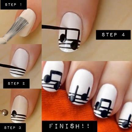 25 amazing diy nail ideas - Nail Design Ideas Easy