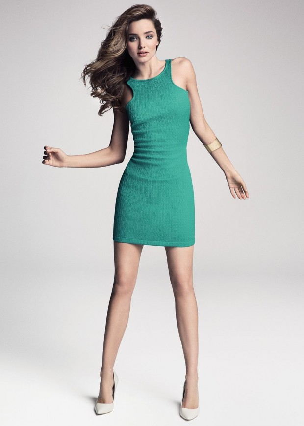 Miranda Kerr looks hot in Mango shoot
