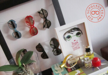DIY Sunglass Display -